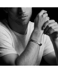 David Yurman - Cable Classics Wide Cuff Bracelet In 18k Gold, 11mm - Lyst