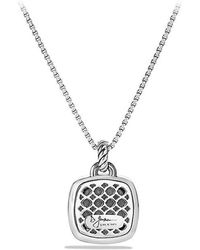 David Yurman - Albion® Pendant With Diamonds, 17mm - Lyst