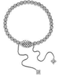 David Yurman - Petite Pave Bracelet With Diamonds - Lyst
