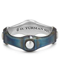 David Yurman | Anvil Band Ring, 8mm | Lyst