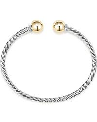 David Yurman - Solari Bracelet With Diamonds And 18k Gold - Lyst