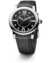 david yurman classic 34mm rubber swiss quartz watch lyst