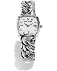 David Yurman - Albion 27mm Stainless Steel Quartz Watch With Diamonds - Lyst