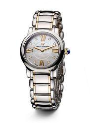 David Yurman | Classic 30mm Quartz Watch With 18k Gold And Diamonds | Lyst