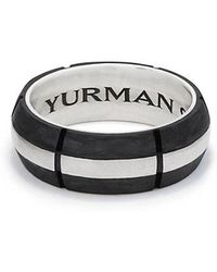 David Yurman | Forged Carbon Band Ring | Lyst