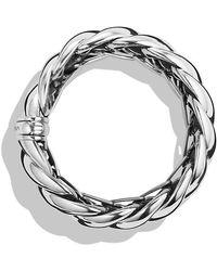 David Yurman - Hampton Cable Bracelet - Lyst