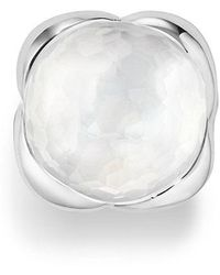 David Yurman - Continuance Ring With Moon Milky Quartz, 20mm - Lyst
