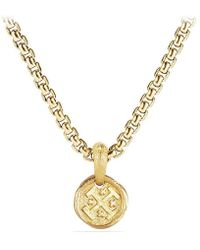 David Yurman - Shipwreck Coin Amulet In 22k Gold, 10.5mm - Lyst
