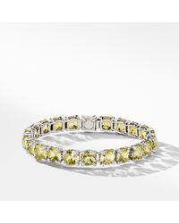 David Yurman - Châtelaine Bracelet With Lemon Citrine And Diamonds - Lyst