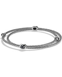 David Yurman - Color Classics Bangles With Hematine - Lyst