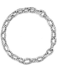 David Yurman - Continuance Small Twisted Cable Chain Bracelet - Lyst
