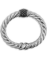 David Yurman - Osetra Center Station Bracelet With Hematine, 10mm - Lyst