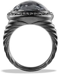 David Yurman - Albion Ring With Gray Orchid And Black Diamonds - Lyst