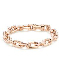 David Yurman - Chain Link Bold Bracelet In 18k Rose Gold - Lyst