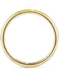 David Yurman | Dy Eden Narrow Band Ring In 18k Gold, 4mm | Lyst