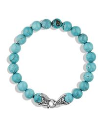David Yurman - Spiritual Beads Bracelet With Turquoise - Lyst