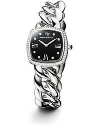 David Yurman | Albion 27mm Stainless Steel Quartz Timepiece With Diamonds | Lyst