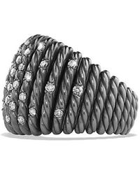 David Yurman | Tempo Ring With Diamonds | Lyst