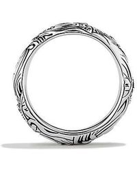 David Yurman - Waves Wide Band Ring - Lyst