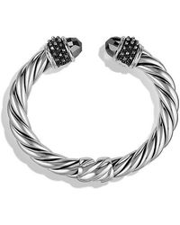 David Yurman - Osetra Bracelet With Hematine, 10mm - Lyst