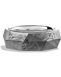 David Yurman - Meteorite Band Ring - Lyst