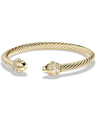 David Yurman | Renaissance Bracelet In 18k Gold, 5mm | Lyst
