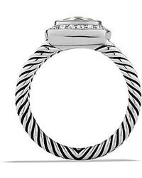 David Yurman - Petite Albion® Ring With Prasiolite And Diamonds - Lyst