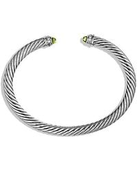 David Yurman | Cable Classics Bracelet With Diamonds | Lyst