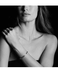 David Yurman | Cable Classics Bracelet With Morganite And Diamonds, 5mm | Lyst