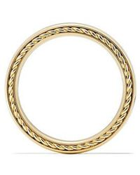David Yurman - Streamline Band Ring In 18k Gold, 4mm - Lyst