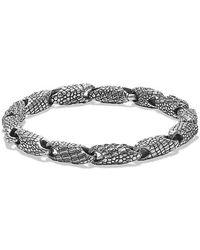 David Yurman | Naturals Gator Link Bracelet | Lyst