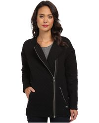 Obey Condor Quilted Zip Jacket - Lyst