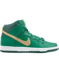 "Nike Sb Dunk Pro High ""St. Patty'S Day"" - Lyst"
