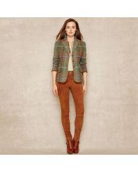 Ralph Lauren Blue Label | Custom-Fit Tweed Riding Jacket | Lyst