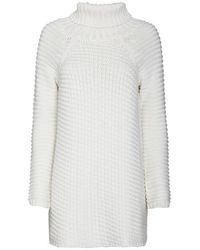 Mason by Michelle Mason Turtleneck Sweater Dress White - Lyst