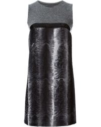 DSquared2 Contrasting Panel Dress - Lyst