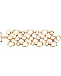 Oscar de la Renta Twisted Rope Bracelet - Lyst