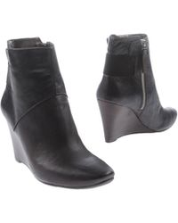 Nine West Wedge Ankle Boots - Lyst