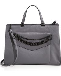 Milly Collins Chain Tote - Lyst