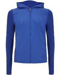Michael Kors Panelled Hooded Jacket - Lyst