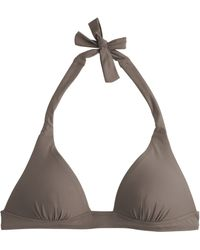 J.Crew Sculpted Halter Top - Lyst