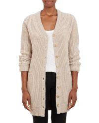 ATM Chunky Rib-knit Oversize Cardigan - Lyst