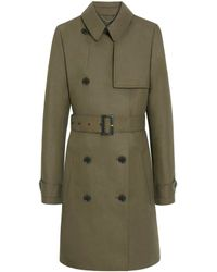 Mulberry Trench Coat - Lyst