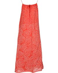 Antik Batik 3/4 Length Dress - Lyst