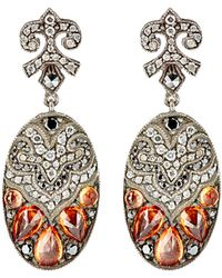 Sevan Biçakci | Women's Mixed-gemstone Oval Drop Earrings | Lyst
