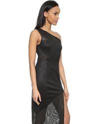 Kempner Patchwork Maxi Dress - Black - Lyst