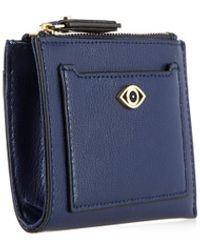 Diane Von Furstenberg Good Fortune Mini Card Case - Lyst
