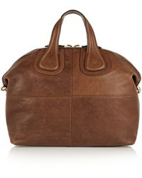 Givenchy Medium Nightingale Bag in Brown Leather - Lyst