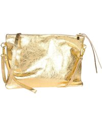 Velvet Under-Arm Bags - Lyst