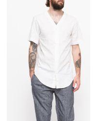 Need Supply Co. Baseball Shirt Tonal Camo white - Lyst
